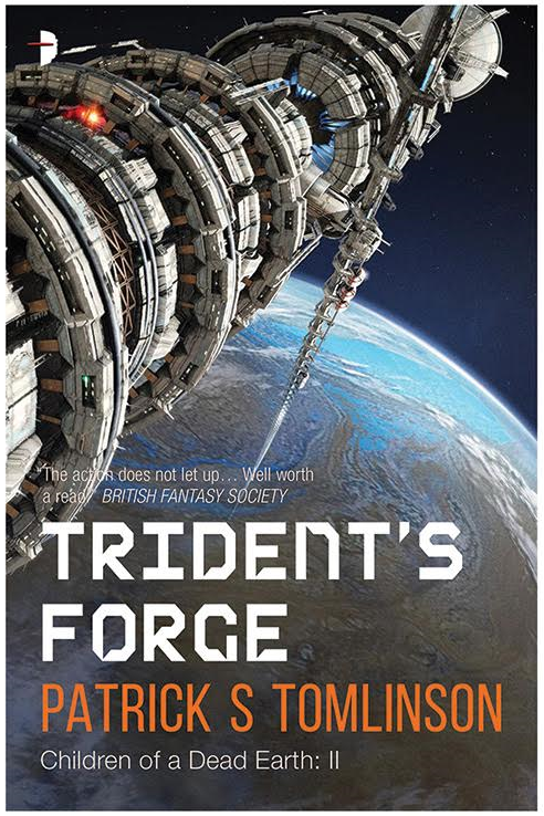 TRIDENT'S FORGE New Cover