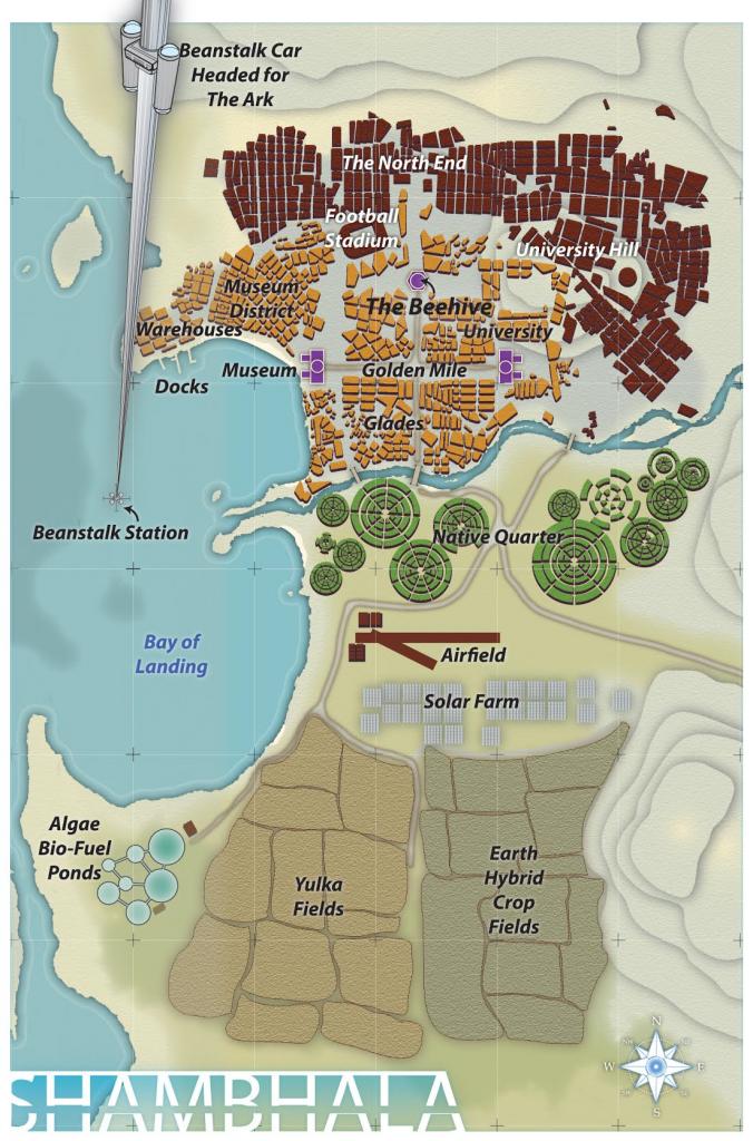 Shambhala Map